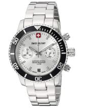 Swiss Military by 'R' Swiss Quartz Silver Watch 09502 3N A  - $245.00
