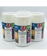 Set of 4 INGLOW Color Changing Outdoor Flameless LED Candles - $49.50
