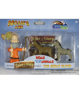 Noah's Ark Action Figures Tales of Glory 3 Set The Great Flood Save Anim... - $10.20