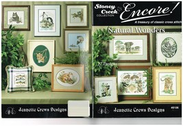 NATURAL WONDERS - STONEY CREEK CROSS STITCH BOOK - $8.86