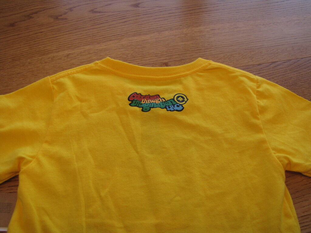youth Boys 7 LRG roots equipment yellow t shirt NEW