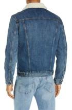 Levi's Strauss Men's Cotton Sherpa Lined Denim Jean Trucker Jacket 163650040 image 2