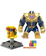 Thanos And Gauntlet 6 infinity stones Marvel Avengers Infinity War Minif... - $7.98