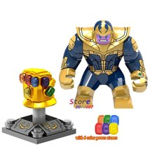 Thanos And Gauntlet 6 infinity stones Marvel Avengers Infinity War Minifigures - $3.99