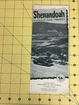 Vintage Travel Brochure Shenandoah National Park Service Virginia 1949 - $19.55