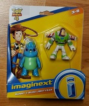 Fisher Price Imaginext Toy Story 4 *NIP* Bunny & Buzz Lightyear Ages 3-8 - $4.95
