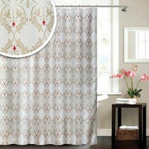 Blue Canyon Damask Shower Curtain 180cm x 180cm - $29.35
