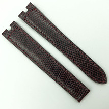 Cartier Authentic 14.5mm Burgundy Leather Strap for Deployant 5809D07OCAB - $299.00