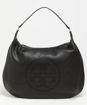 Tory burch black perforated logo hobo product 2 5629559 965538162.jpeg thumb200