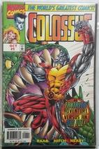 One Shot Marvel Comics 1997 Colossus #1 - $6.00