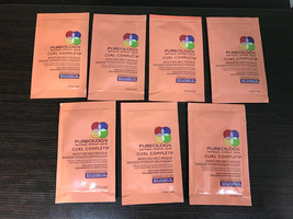 Pureology Curl Complete Moisture Melt Masque ( 7 SAMPLE PACKS x .17oz EACH) - $8.90