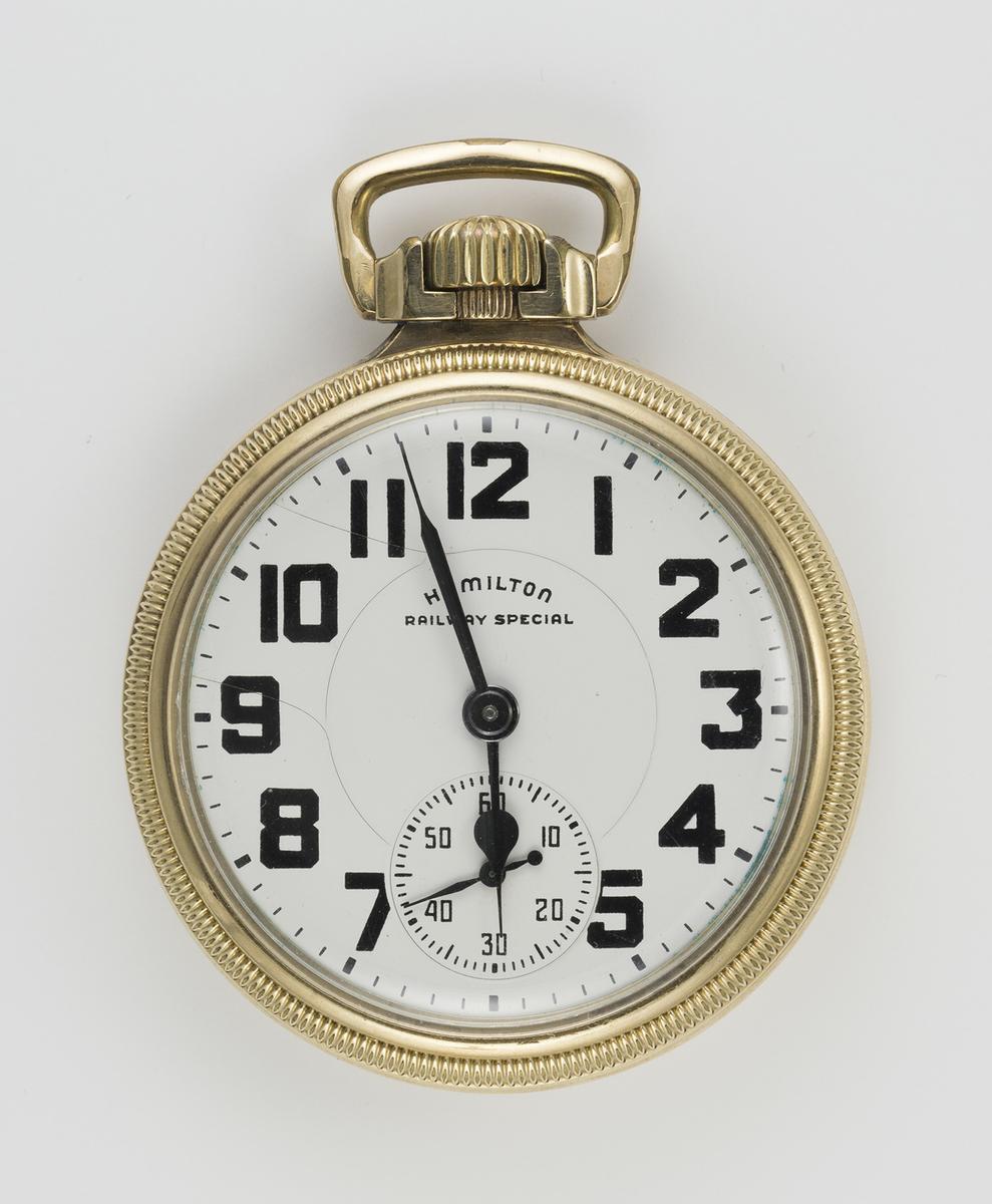 c1949-A 16 Size Hamilton 21J Railway Special Pocket Watch 992B