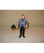 WWE JIM CORNETTE FIGURE JAKKS PACIFIC RINGSIDE ... - $7.00