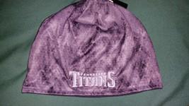 TENNESSEE TITANS GRAY CAMO KNIT CUFFLESS Beanie hat toboggan NFLTEAM APP... - $19.99
