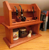 Craftsman Cottage Tobacco Pipe Rack Plan - Buil... - $12.95