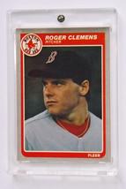 Rare 1983 Fleer, Roger Clemens Rookie Baseball Card  #155 - $50.00