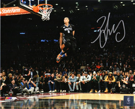 Zach LaVine Signed Minnesota Timberwolves 2016 NBA Slam Dunk Contest 8x1... - £61.12 GBP