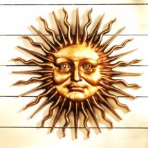 Sloane Square Sun: Greeman Wall Sculpture - $126.95