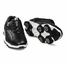 NEW! FootJoy [8] Wide Men SuperLites Golf Shoes 58014-Black - $118.68