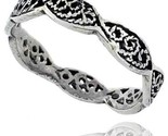 Sterling silver swirl filigree wedding band ring 1 8 in wide style tr550 thumb155 crop