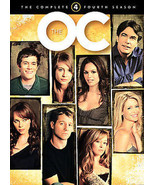 The O.C. - The Complete Fourth Season (DVD, 2007, 5-Disc Set, Digipak) L... - $18.04