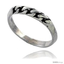 Size 7.5 - Sterling Silver Rope Wedding Band  - $15.48