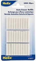 Helix Auto Eraser (Eraser Refills) 5 pcs sku# 1823346MA - $26.45