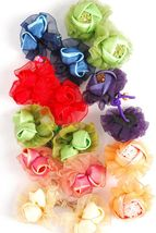 Flower Flourish Ponytail Holders - $5.00