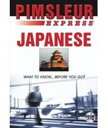 Express Japanese: Learn to Speak and Understand Japanese with Pimsleur L... - $4.69