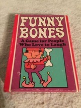 Funny Bones Card Game Vintage 1968 Parker Brothers. Made In The USA. Laugh! - $18.31