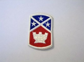 Army Full Color Patch 194th Engineer Brigade Current MANUFACTURER:K6 - $3.00