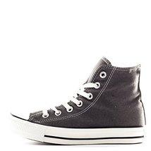 Converse MEN CHUCK TAYLOR CLASSIC HI Charcoal 4 SNEAKERS - $47.03