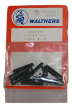 Walthers, Athearn Parts 140-34015 Loco Air Tank, New 4 sets
