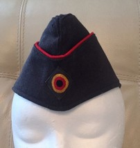 Vintage German Military Hat 1966 G.U.F Brand Marked And Used - $37.39