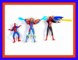 Spider Man   Set *3 Spider Man Action Figures ,Collector's Figures ,High Quality - $25.29
