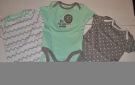 Circo Infant Bodysuits 3 Pack   Size -0-3M NWT  - $11.19