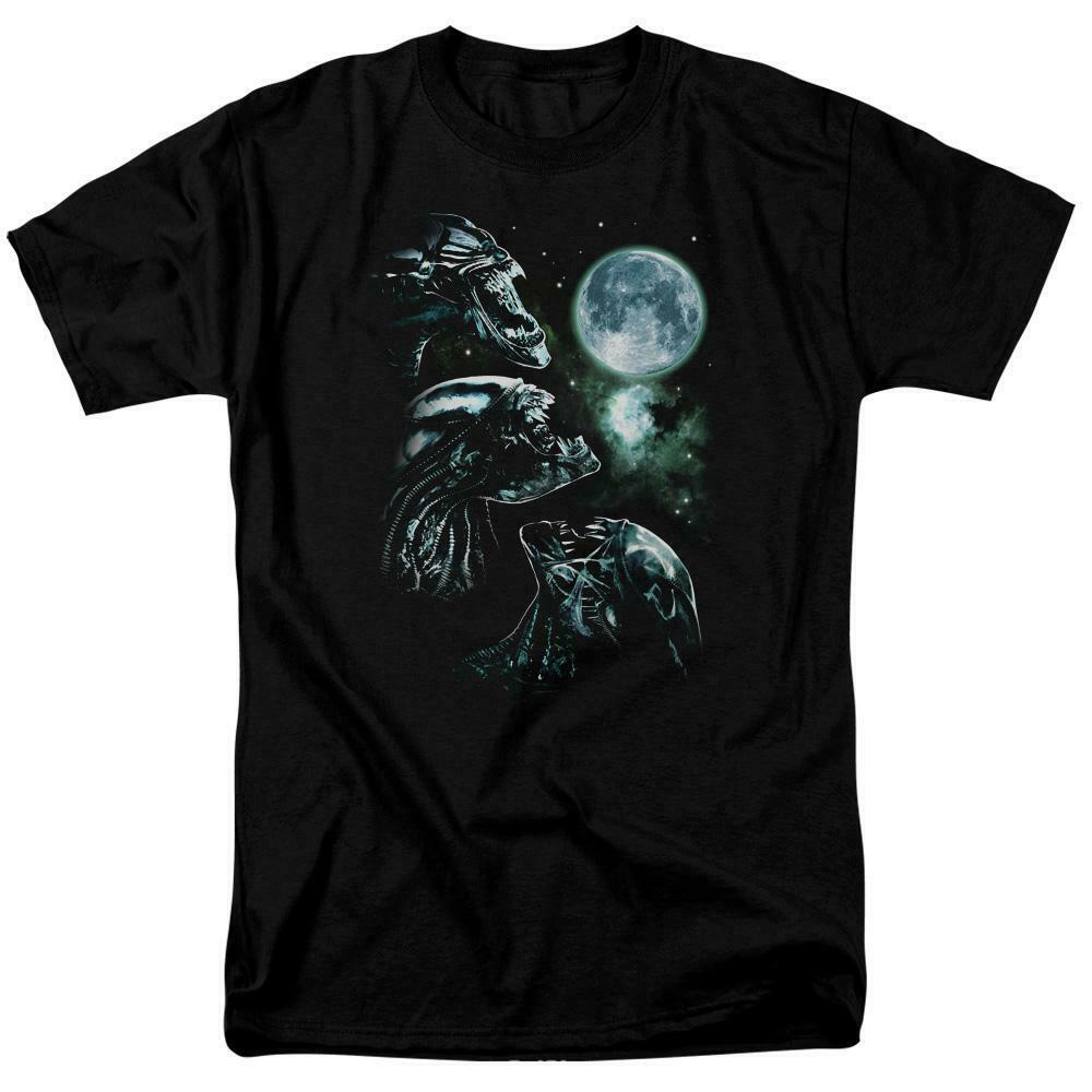 Aliens t-shirt Alien howling retro Sci-Fi horror movies graphic tee TCF644