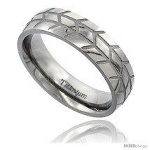 Size 8 - Titanium 6mm Domed Wedding Band Ring H... - $69.00