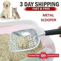 Cat Litter Scoop Metal Scooper Deep Shovel for Cleaning Pet Care Sand Wa... - $9.89