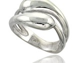 Sterling silver snakes ring flawless finish 1 2 in wide thumb155 crop