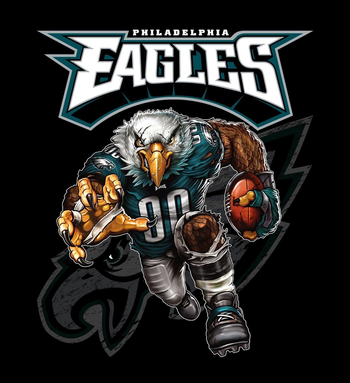 Primary image for Philadelphia Eagles Running Back Men's T-Shirts Sizes (S - 4XL)