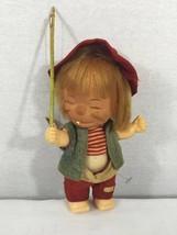 Vintage1960's Brat Dolls,fishing Made In Hong Kong.  - $7.61