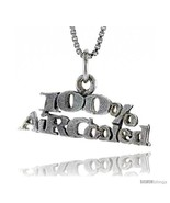 Sterling Silver 100 Percent AIR-COOLED Word Necklace, w/ 18 in Box  - $44.40