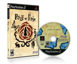 Rule of Rose Repro DVD Playstation 2 High Quality - $35.00
