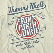 Thomas Rhett T shirt Front Porch Junkie country music 100% cotton graphic tee image 2
