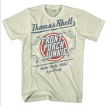 Thomas Rhett T shirt Front Porch Junkie country music 100% cotton graphic tee image 1