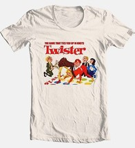 Twister T shirt retro 80's board game vintage toys graphic 100% cotton tee image 2