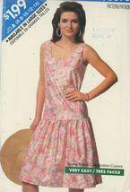 Sun Dress Pattern Butterick 6398 Sz 6-8-10-12-14-18 Uncut 1980's  - $2.00