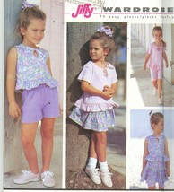 Sewing Pattern Simplicity 7850 Girls' Shirt Skirt and Shorts Size 5-6x U... - $2.00