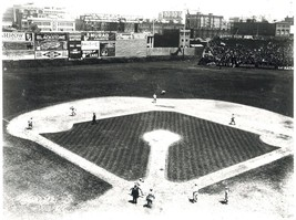 Fenway Park 1917 Boston Red Sox Vintage 22X28  BW Baseball Memorabilia Photo - $37.95